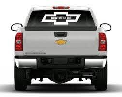 Chevy Bow Tie Til I Die Truck Vinyl Decal Stickers Sticker Flare Llc