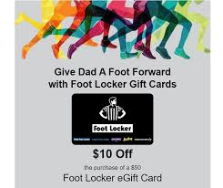 50 foot locker gift cards for 40