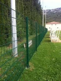 Athletic Field Fence Sportif Zaun Fencing For Green Spaces Wire Mesh Galvanized Steel
