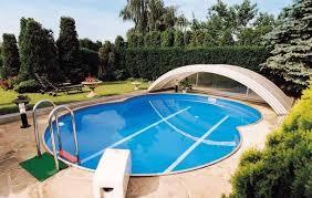 """Купить Сборный бассейн """"восьмерка"""" Unipool Exellent 7,7 на 5,5 м, высота  1,2 м☆цена от 181 796 руб. с бесплатной доставкой по Москве"""