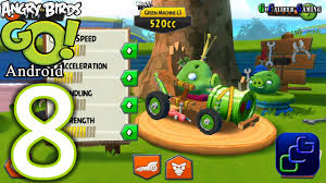 Angry Birds GO Android Walkthrough - Part 8 - Rocky Road: Track 2 ...