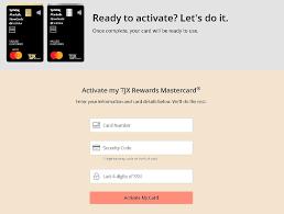 tjx rewards credit card account login