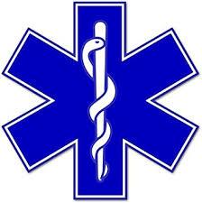 Amazon Com Rogue River Tactical Ems Emt Star Of Life Sticker Decal Blue Medical Paramedic Ambulance 5 Automotive