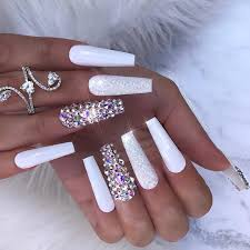 acrylic white nail designs yeppe