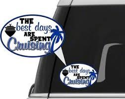 Car Decal Window Decal Cruise Decal Car Sticker Window Etsy