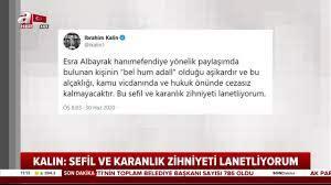 Son dakika: Bakan Albayrak ve eşi Esra Albayrak'a skandal ...