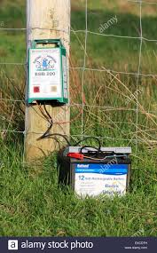 Electric Fence Battery High Resolution Stock Photography And Images Alamy