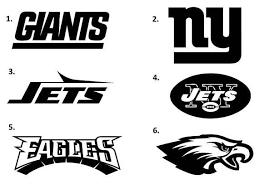 Ny Giants Decal Ny Jets Decal Philadelphia Eagles Decal Sports Decal Football Decal Football Decal Sports Decals Ny Giants
