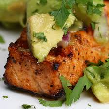 Grilled Salmon With Avocado Salsa ...