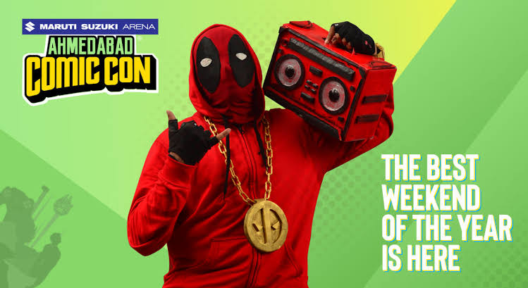 Image result for Ahmedabad Comic Con""