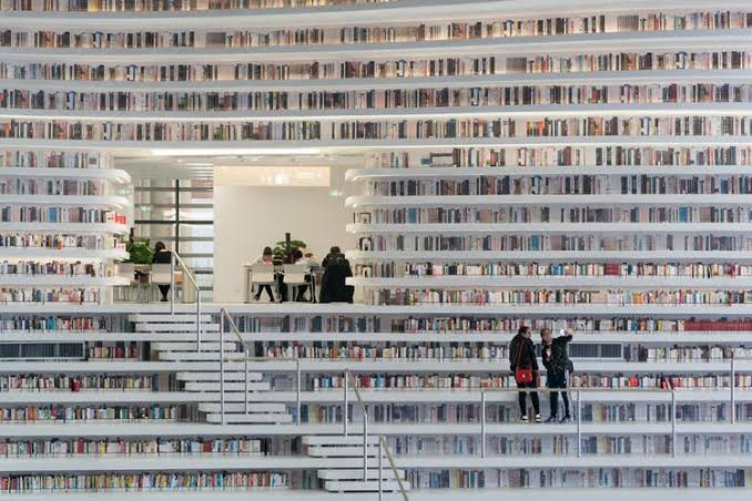 Suka Baca Buku? Kunjungi Perpustakaan Terbesar Di dunia Ini, Dijamin Gak Mau Pulang
