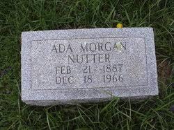 Ada Nutter (Morgan) (1887 - 1960) - Genealogy