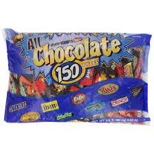 Kẹo Socola tổng hợp All Chocolate 150 Pieces 2.55kg của Mỹ - BÁNH ...