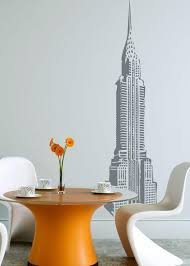 Chrysler Building Grey Wall Decal Wall Decal Allposters Com
