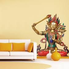 Shop Full Color Krishna India Hinduism Vishnu Full Color Wall Decal Sticker Sticker Decal Size 48x57 Overstock 14947012