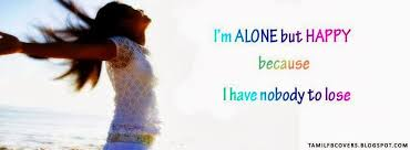 alone but happy es in english