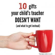 gifts for teachers what to and