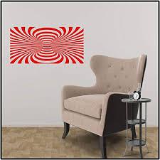 Amazon Com Decaldoggy Vortex Wide Optical Illusion Vinyl Decal Car Wall Red Glitter Home Kitchen