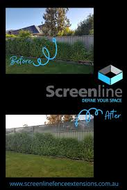 Screenline Fence Extensions In 2020 Backyard Entertaining Outdoor Play Area Diy Yard Games