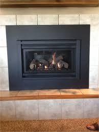 gas fireplace smells like gas