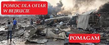 Eksplozja, Bejrut, Liban pomoc Caritas Polska organizuje zbiórkę  wieszwiecej - tvp.info