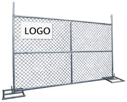 Temporary Construction Temporary Fencing Hot Galvanized Wire Mesh Fencing 6x12 Feet Temporary Chain Link Fence Panels American View Temporary Construction Temporary Fencing Haotian Product Details From Haotian Hardware Wire Mesh Products Co