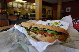 subway wheat bread nutritional value