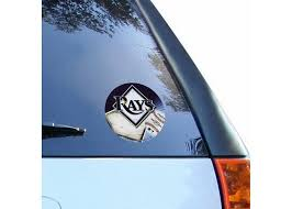 Tampa Bay Rays Mlb Team Logo 1 Color Vinyl Decal Sticker Car Window Wall