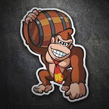 Sticker Donkey Kong Dk Muraldecal Com