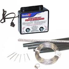 Electric Fence Animal Deterrent Kit 110 V Pond Products Canada Hydrosphere Water Gardens