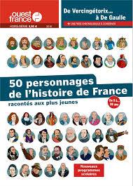 50 personnage de l histoire de france