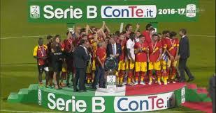 La replica di Benevento-Carpi festeggiamenti compresi