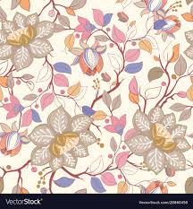 colorful fl pattern wallpaper with