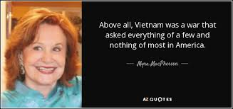 QUOTES BY MYRA MACPHERSON | A-Z Quotes