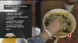 spinach artichoke queso news on 6