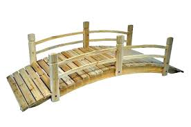 attractive garden bridge kit wooden