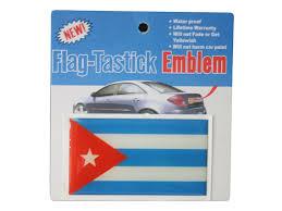Cuba Country Flag Bumper Decal Sticker Emblem
