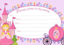 Invitaciones Para Cumpleanos De Ninas Para Imprimir Gratis