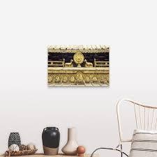 Shop Gold Roof Of The Jokhang Lhasa Tibet Canvas Wall Art Overstock 16491905