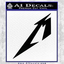 Metallica M Logo Decal Sticker Tx A1 Decals