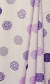Purple Pink Curtains For Baby Girl Nursery I Kids Room Drapes I Polka Dot Curtains Spiffy Spools