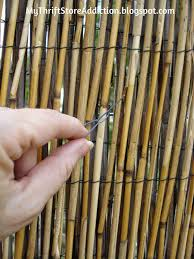 Diy Reed Fence Upgrade Reed Fencing Bamboo Fence Diy Fence