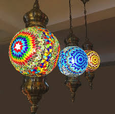 turkish moroccan pendant light handmade