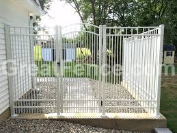 White Metal Fencing For Your Home Or Garden Aluminum Fence Metal Fence Security Fence