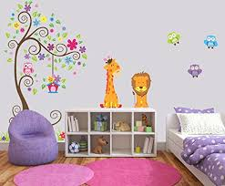 35 Jungle Themed Wall Decals For Toddlers Nurseries And Playrooms