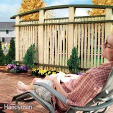 How To Build A Patio Privacy Screen Diy Family Handyman