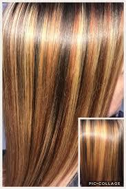 Hair by Wendi - Copper red, golden blonde, and warm dark... | Facebook