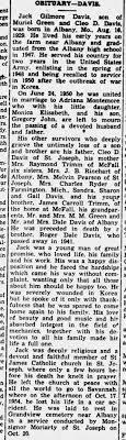 Jack Davis (Adriana Davis husband) - Newspapers.com