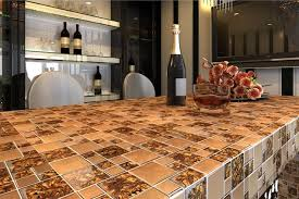 glass metal mosaic tiles