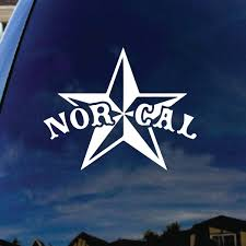 Car Truck Graphics Decals 20 Nor Cal California Car Decal Sticker Windshield Banner Bay Area Sf Auto Parts And Vehicles